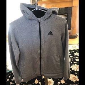 Adidas Girls Large Zip Up Hoodie, GUC